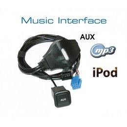 Music Interface AUX Buchse - Mini ISO für Audi, VW, Seat, Skoda