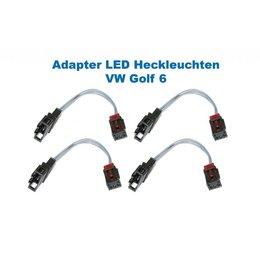 LED achterlichten - Adapter - VW Golf 6 VI