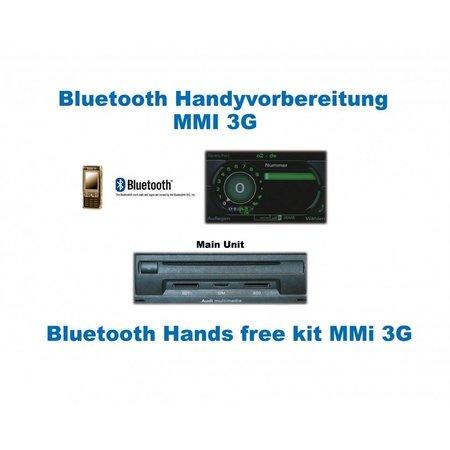 "Bluetooth Handsfree - met MMI 3G - Audi A6 4F - ""Complete"""