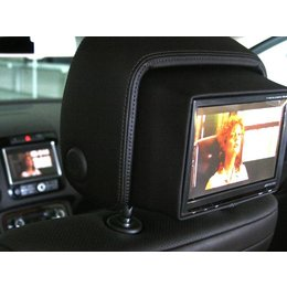 Integrated Rear Seat Entertainment - headrest - VW Touareg 7P