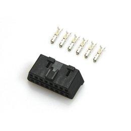 OBD Diagnose-Stecker - 16 PIN incl. 6 Terminals