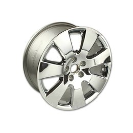 Original Audi A6 4F 18 inch chrome alloy wheel