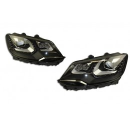 Bi-Xenon Headlights LED DTRL - Upgrade - VW Sharan 7N