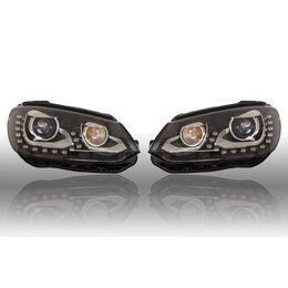 Volkswagen Bi-Xenon-Scheinwerfer-Set LED TFL für VW EOS 2012