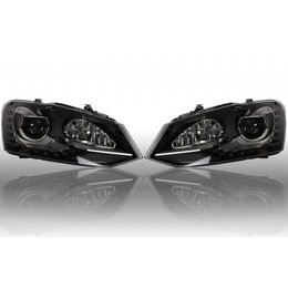 Bi-Xenon Headlights LED DTRL - Upgrade - VW Polo 6R