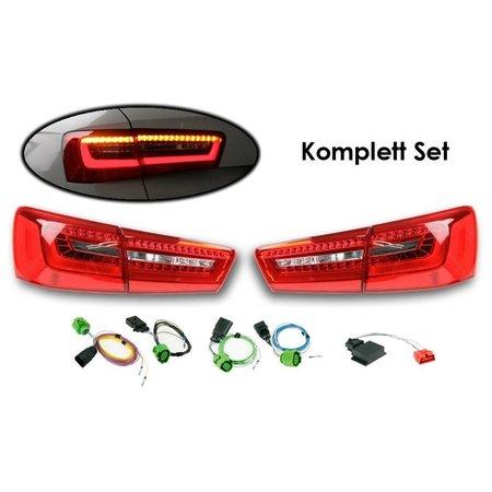 Bundle LED achterlichten Audi A6 Avant (4G)