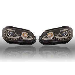 Bi-Xenon Headlights LED DTRL - VW EOS 2012