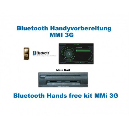 "Bluetooth Handsfree - Audi A6 4F - Radio Low I - ""Bluetooth Only"""