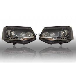 Bi-Xenon verlichting LED DTRL - VW T5 GP