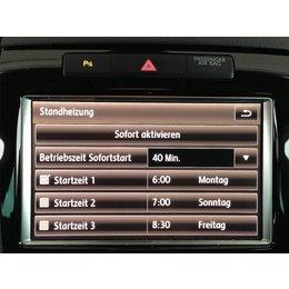 Nachrüstset Standheizung für VW Touareg 7P, 2 Zonen Klima