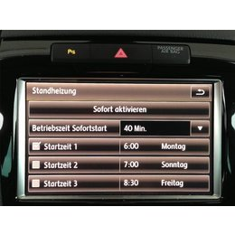 Retrofit kir Standheizung VW Touareg 7P