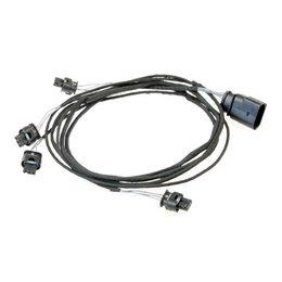 <ul><li>Spezifischer Kabelsatz zur Nachrüstung einer PDC Einparkhilfe für folgende Fahrzeuge:<br><ul><li>VW Golf 5 mit OPS<br></li><li>VW Scirocco mit OPS<br></li></ul></li><li>Dieser Kabelsatz verbindet das PDC Steuergerät mit den Sensoren im Heck</li></