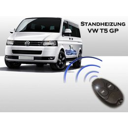 Auxiliary heating VW T5 GP