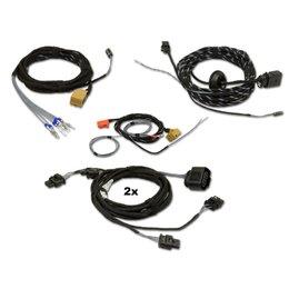 Kabel Set Park Pilot w / OPS - voor + achter Retrofit - VW Touareg 7P
