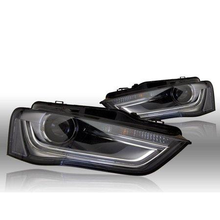 Bi-Xenon verlichting LED DTRL - Audi A4 8K Facelift - rechts verkeer