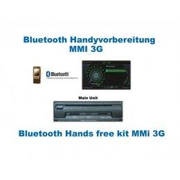 """Bluetooth Handsfree -Audi A4 8K, A5 8T MMI 3G MMI 3G """"Complete set"""""""