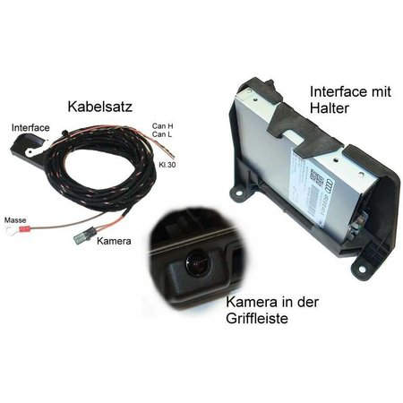 APS vooraf - Compleet - Audi A4 8K w / achteruitrijcamera MMI 2G