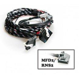 Kabelsatz Rückfahrkamera für VW Touareg 7L - MFD 2 / RNS 2 DVD
