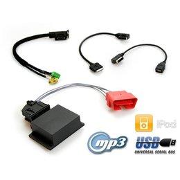 MDI - MEDIA IN Multimediabuchse für VW RNS 850 - USB