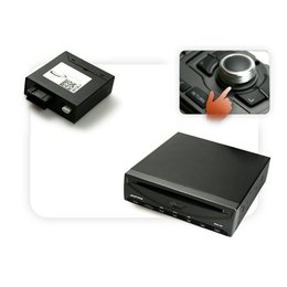 DVD-Player USB + Multimedia-Adapter LWL mit Steuerung - MMI 2G mit OEM RFK