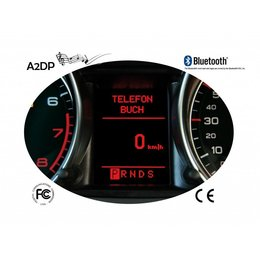 "FISCON Handsfree Bluetooth - Audi, Seat ""Basic"" Mini ISO + BNS 4.0 navigation"