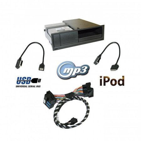 AMI Audi Music Interface w / iPod - Retrofit - Audi A4 8K w / CAN