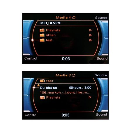 Nachrüst-Set AMI (Audi music interface) iPod für Audi Q5 8R CAN