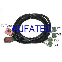 Kabelsatz TV-Antennenmodule für Audi Q7 4L - MMI 3G