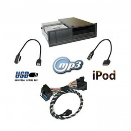 Nachrüst-Set AMI (Audi music interface) RNS-E für Audi A3 8P, TT 8J - USB