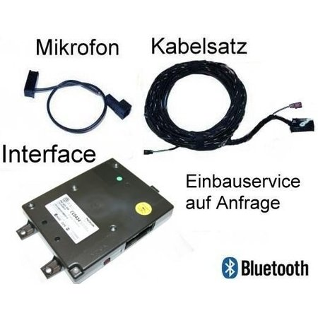 Bluetooth Premium (met rSAP) - Retrofit - VW Golf 6 VI