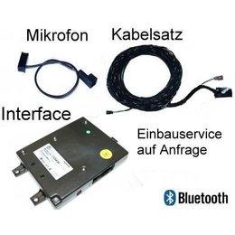 Mobiltelefonvorbereitung Premium rSAP für VW Touareg - mit Sprachbedienung ab Werk