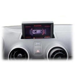 Komplett-Set Einparkhilfe plus - Front & Heck für Audi A1 8X - Ohne RDK / Mit Sitzheizung