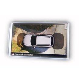 Area view - 4 camera system - VW Touareg 7P