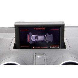 Komplett-Set Einparkhilfe Front für Audi A1 8X - Mit RDK / Ohne Sitzheizung