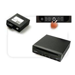 DVD Player + Multimedia Adapter LWL mit Steuerung RNS 850 - DVD-Wechsler vorhanden