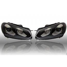 Bi-Xenon Headlights LED DTRL - Upgrade - VW Golf VI 6