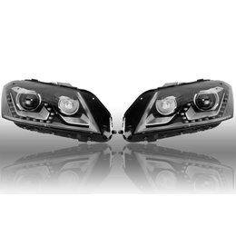Bi-Xenon Headlights LED DTRL - Upgrade - VW Passat B7