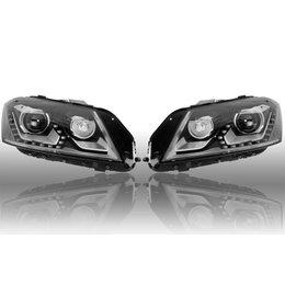 Bi-Xenon-Scheinwerfer-Set LED TFL für VW Passat B7 - mit elektr. Dämpferregelung