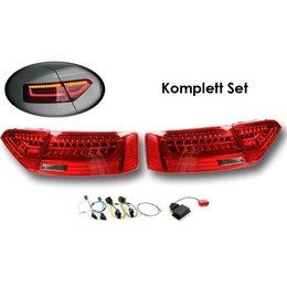 Komplett-Set LED-Heckleuchten für Audi A5 / S5 Facelift - Standard US auf LED facelift EU