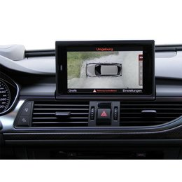 Umfeldkamera - 4 Kamera System für Audi A6 4G - 4ZB bis Mj. 2014