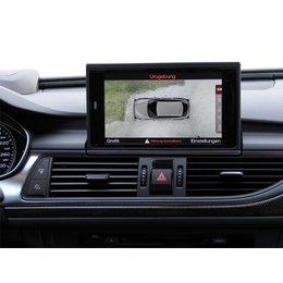 Omgeving camera - 4 Camera System - Audi A6 4G - 4ZD, 4ZM naar Mj. 2014 -