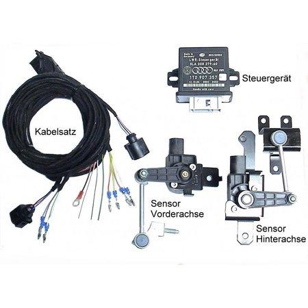 Automatische niveauregeling set - Retrofit - VW EOS zonder stroom. Damping control