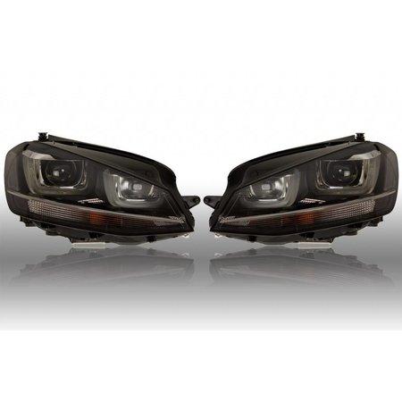 Bi-Xenon Scheinwerfer mit LED TFL für VW Golf 7