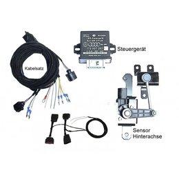 Automatische niveauregeling set   complete set - Retrofit - VW Golf 7 - Bi-Xenon, corning licht, 4Motion, zonder elektr. damper control
