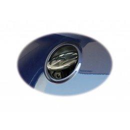Emblem-Rückfahrkamera für VW Passat 3C Limousine - RNS 510 - Multimedia Adapter vorhanden, mit Hilfslinien