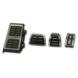 Pedale / Fußstütze - Edelstahl - Schaltgetriebe VW Golf 7 Audi A3 8V Sitz Leon 5F Skoda Octavia 5E