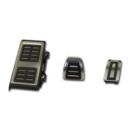Pedale / Fußstütze - Edelstahl - Automatikgetriebe