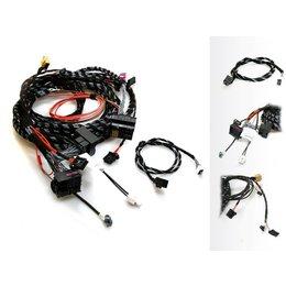 Upgrade Radio systeem MMI-High 3G - Kabelboom - Audi - passieve Sound 8RX