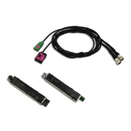 Antenna Module + cable set FISCUBE Audi A8 4H - DAB available