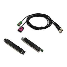 Antennenmodule + Kabelsatz FISCUBE für Audi A8 4H - DAB vorhanden